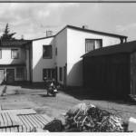 Kastanienhof Göhren Parkplatz - historisches Bild