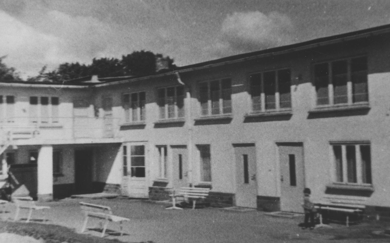 Ferienlager Göhren - historisches Bild