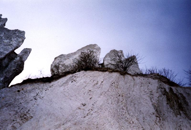 Ansicht Kreide von unten