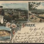 Postkarten-Gruss aus Göhren um 1897