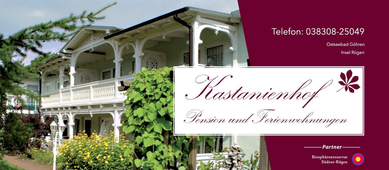 Pension Ferienwohnungen Kastanienhof Ostseebad Göhren Rügen