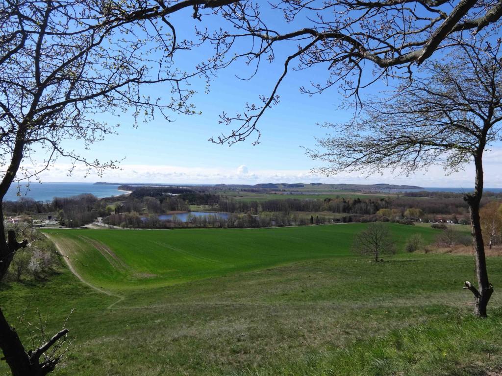 Blick auf Rügen - vom Ostseebad Göhren zum Mönchgut
